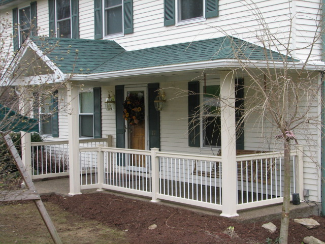 Front Porches Affordable Decks And Additions